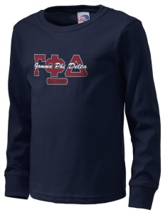 Gamma Phi Delta  Kid's Long Sleeve T-Shirt