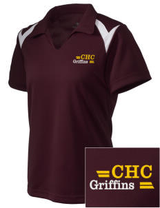Chestnut Hill College Griffins Embroidered Holloway Women's Laser Polo