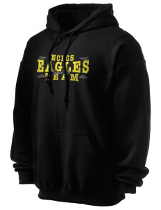 NIA Community Public Charter School Eagles Ultra Blend 50/50 Hooded Sweatshirt