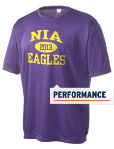 NIA Community Public Charter School Eagles Men's Competitor Performance T-Shirt
