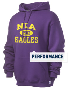 NIA Community Public Charter School Eagles Russell Men's Dri-Power Hooded Sweatshirt
