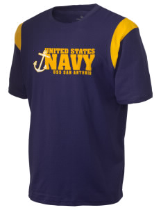 USS San Antonio Holloway Men's Rush T-Shirt