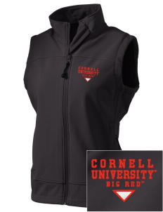 Cornell University Big Red  Embroidered Women's Glacier Soft Shell Vest