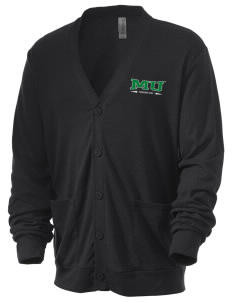 Marshall University Thundering Herd Men's 5.6 oz Triblend Cardigan