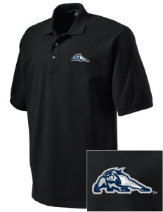 University of New Hampshire Wildcats Embroidered Tall Men's Pique Polo