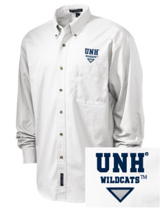 University of New Hampshire Wildcats Embroidered Men's Twill Shirt