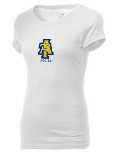 North Carolina A&T State University Aggies Holloway Women's Groove T-Shirt