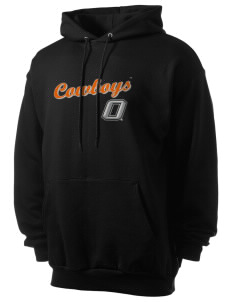 Oklahoma State University Cowboys Men's 7.8 oz Lightweight Hooded Sweatshirt