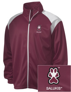 Southern Illinois University Salukis Embroidered Men's Tricot Track Jacket