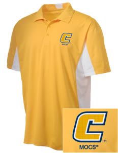 University of Tennessee at Chattanooga Mocs Embroidered Men's Side Blocked Micro Pique Polo