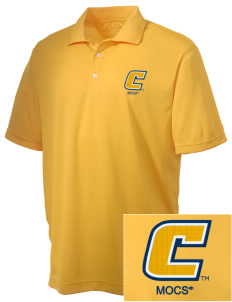 University of Tennessee at Chattanooga Mocs Embroidered Men's Double Mesh Polo