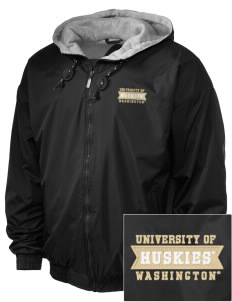 University of Washington Huskies Embroidered Holloway Men's Hooded Jacket