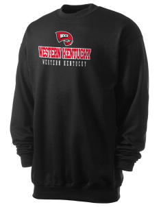 Western Kentucky University Hilltoppers Men's 7.8 oz Lightweight Crewneck Sweatshirt