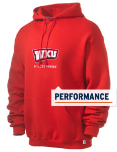 Western Kentucky University Hilltoppers Russell Men's Dri-Power Hooded Sweatshirt
