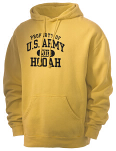 U.S. Army Men's 80/20 Pigment Dyed Hooded Sweatshirt