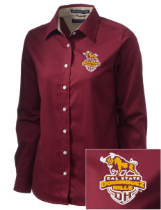 California State University, Dominguez Hills Toros  Embroidered Women's Pima Advantage Twill