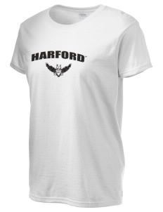 Harford Community College Fighting Owls Women's 6.1 oz Ultra Cotton T-Shirt