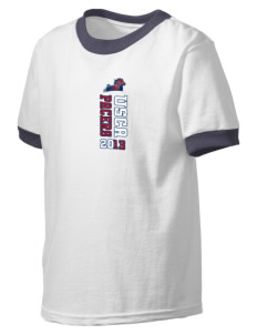 University of South Carolina Aiken Pacers Kid's Ringer T-Shirt