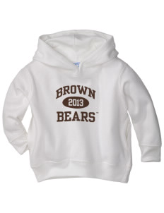 Brown University Bears  Toddler Fleece Hooded Sweatshirt with Pockets