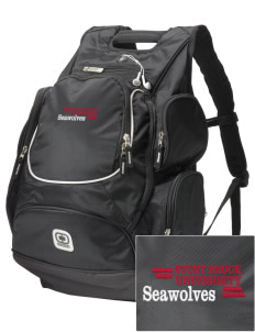 Stony Brook University Seawolves  Embroidered OGIO Bounty Hunter Backpack