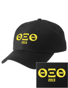 Theta Xi Theta  Embroidered New Era Adjustable Structured Cap