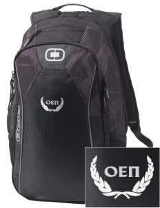 Omicron Epsilon Pi Embroidered OGIO Marshall Backpack