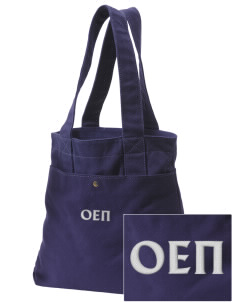 Omicron Epsilon Pi Embroidered Alternative The Berkeley Tote