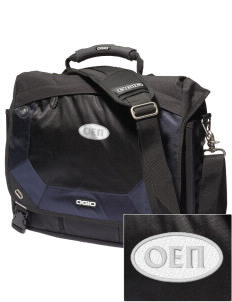 Omicron Epsilon Pi Embroidered OGIO Jack Pack Messenger Bag