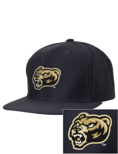 Oakland University Golden Grizzlies Embroidered D-Series Cap