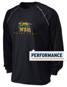 Wright State University Raiders Holloway Men's Fuel Performance Long Sleeve T-Shirt