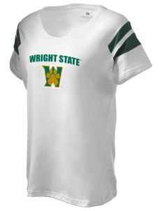 Wright State University Raiders Holloway Women's Shout Bi-Color T-Shirt