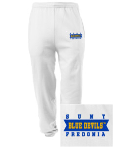 SUNY Fredonia Blue Devils Embroidered Men's Sweatpants with Pockets