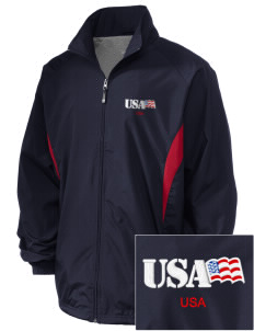 U.S. Marine Corps Embroidered Holloway Men's Full-Zip Jacket