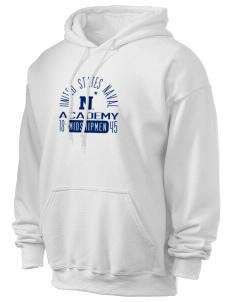 United States Naval Academy Midshipmen Ultra Blend 50/50 Hooded Sweatshirt