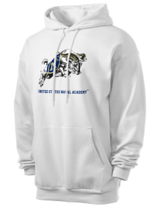 United States Naval Academy Midshipmen Men's 7.8 oz Lightweight Hooded Sweatshirt