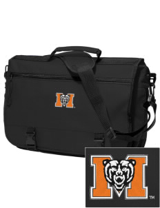Mercer University Bears Embroidered Expandable Briefcase