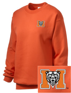 Mercer University Bears Embroidered Unisex Crewneck Sweatshirt