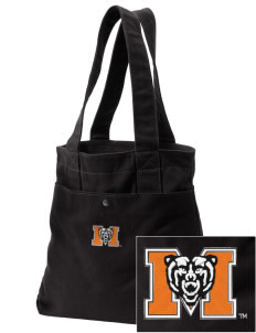 Mercer University Bears Embroidered Alternative The Berkeley Tote