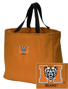 Mercer University Bears Embroidered Essential Tote