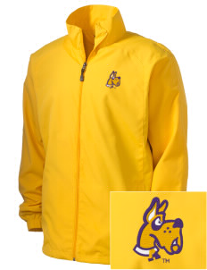 University at Albany State University of New York Great Danes Men's Full-Zip Wind Jacket