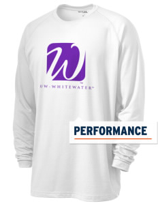 University of Wisconsin-Whitewater Warhawks Men's Ultimate Performance Long Sleeve T-Shirt