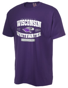University of Wisconsin-Whitewater Warhawks  Russell Men's NuBlend T-Shirt