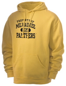 University of Wisconsin-Milwaukee Panthers Men's 80/20 Pigment Dyed Hooded Sweatshirt