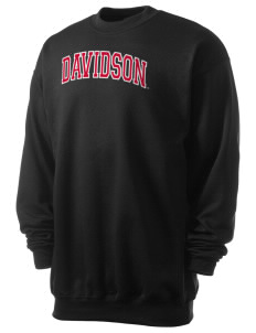 Davidson College Wildcats Men's 7.8 oz Lightweight Crewneck Sweatshirt