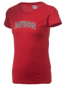Davidson College Wildcats  Russell Women's Campus T-Shirt