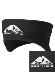 Green River Community College Gators Embroidered Fleece Headband