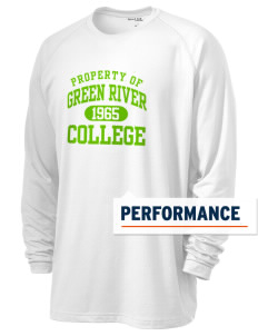 Green River Community College Gators Men's Ultimate Performance Long Sleeve T-Shirt