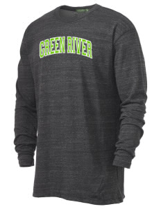 Green River Community College Gators Alternative Men's 4.4 oz. Long-Sleeve T-Shirt