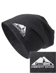 Green River Community College Gators Embroidered Slouch Beanie