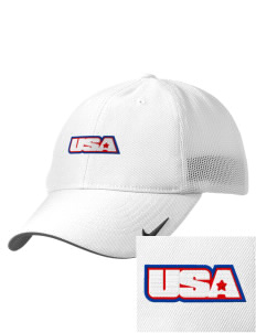 Alaska Air National Guard Embroidered Nike Golf Mesh Back Cap